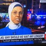 @camanpour, I haven't seen someone so indoctrinated since @KellyannePolls. I suggest she and @RavzaKavakci become friends #Turkeyreferendum