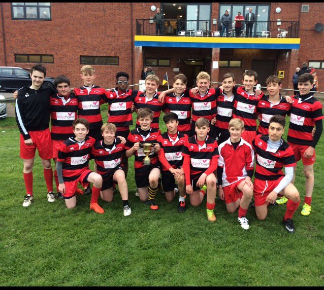 Djcs On Twitter Tyneside U15 Rugby Champions Beating Newcastle