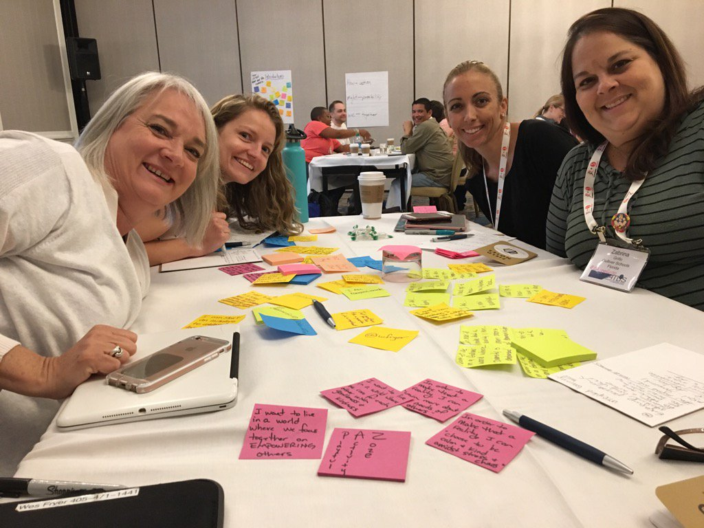 #ATLISac Collaborating with @StehInEdTech @ZabrinaGrillo @techbytracey @sfryer #creativity h/t @mattscully @rwelsh8 https://t.co/nxcrfxpXHK