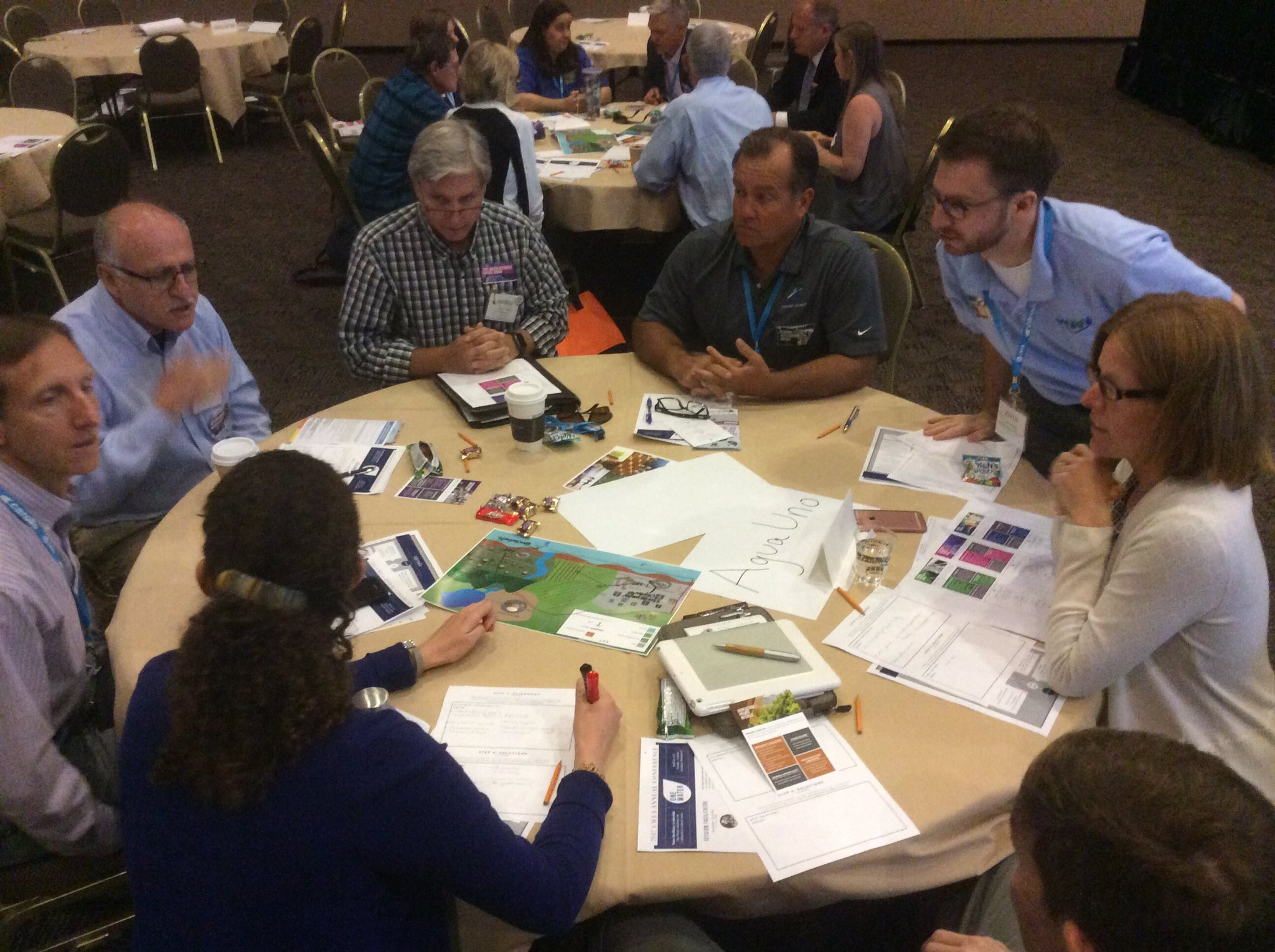 Aqu Uno, CA holds multi agency meeting to solve water issues #OneWaterCWEA #CWEAAC https://t.co/DGSV2WHR9D