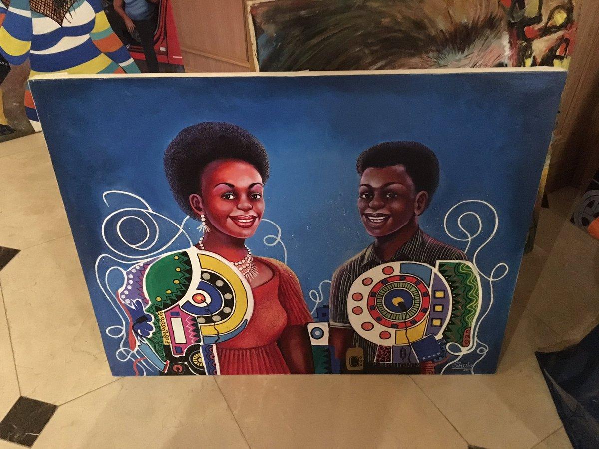 Vernissage demain soir de l'expo Arty Kongo chez CHR HOME 4 Rue Cardinale 75006 #Sortiraparis #Paris #Art #Peinture #leparisien #paristorepic.twitter.com/jTCtaKpgNW