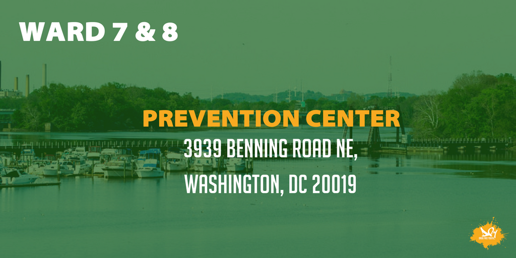 A8. In DC, people with an addiction can seek help at any of the four available prevention centers. #TAMUHealth