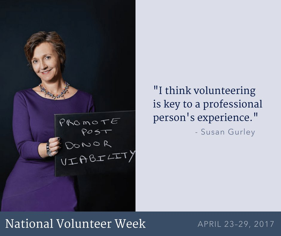 Susan Gurley isn't just one of our board members--she's one of our volunteers! https://t.co/PT183XI8vC #NationalVolunteerWeek https://t.co/g4e1nWK3UJ
