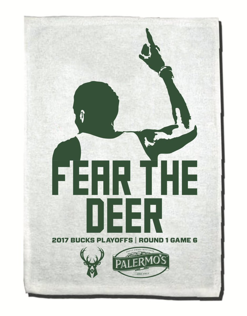 FIRST LOOK: Thursday's Game 6 rally towel presented by @Palermos_Pizza...