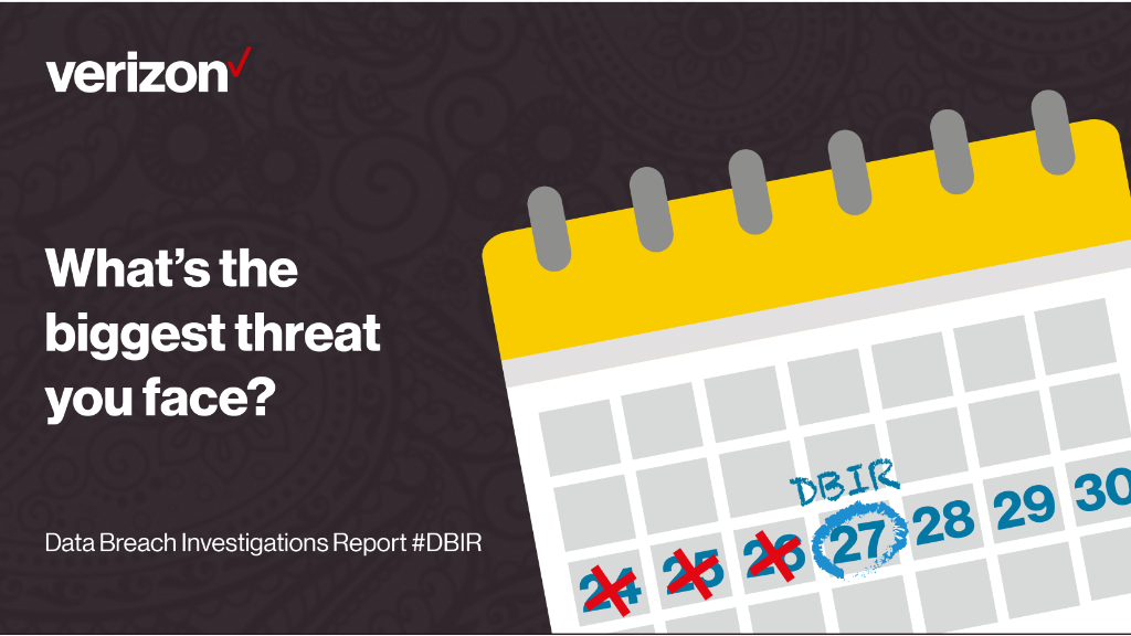 #Cyberespionage? #Hactivism? Discover the biggest threats you face in the #DBIR. 1 day to go https://t.co/aKN7eEd2Yv https://t.co/ngm6gDy9sV