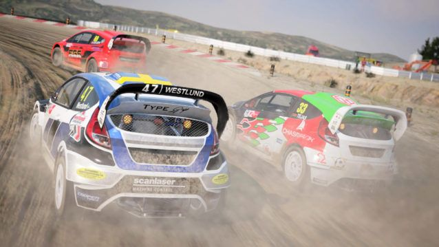 DiRT 4 rally cars