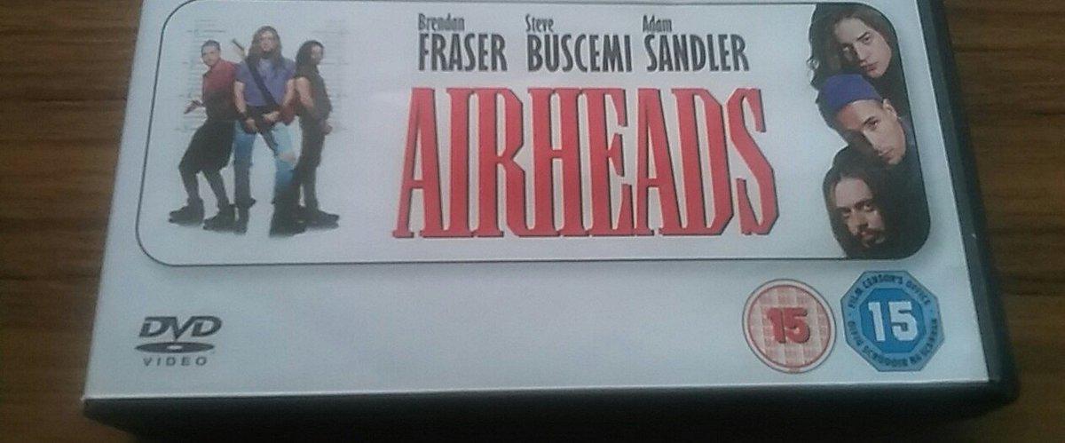 #WatchingNow #AirHeads with @AdamSandler #BrendanFraser #SteveBuscemi #ChrisFarley #JuddNelson   #AmyLocane    @DavidArquette<br>http://pic.twitter.com/Zv59EPLbf9