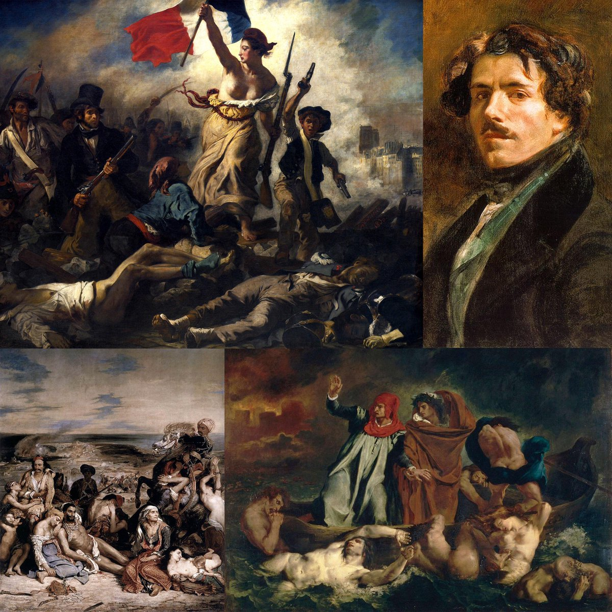 French Embassy Us On Twitter French Romantic Artist And