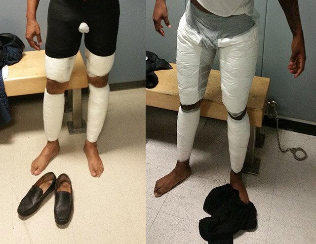 Two Men Arrested At JFK For Taping $380K In Cocaine Around Their Legs https://t.co/xs4N0GeFYp
