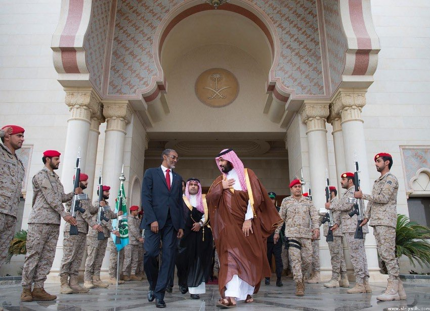 """قاعدة عسكرية سعودية في جيبوتي قريباً.. و""""بامخرمة"""": نترقب توقيع الاتفاق  C-WOQY3XUAAj3xV"""
