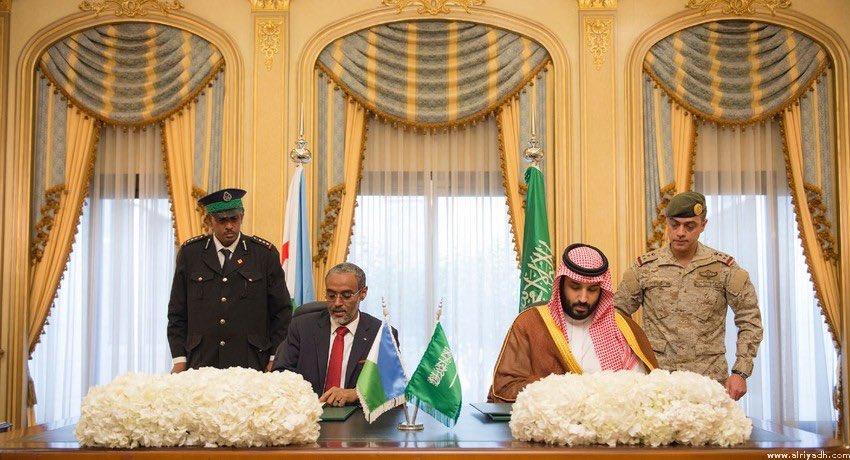 """قاعدة عسكرية سعودية في جيبوتي قريباً.. و""""بامخرمة"""": نترقب توقيع الاتفاق  C-WOQY5XcAIaT-f"""