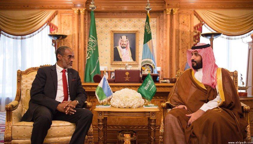 """قاعدة عسكرية سعودية في جيبوتي قريباً.. و""""بامخرمة"""": نترقب توقيع الاتفاق  C-WOQY6WAAAJGBL"""