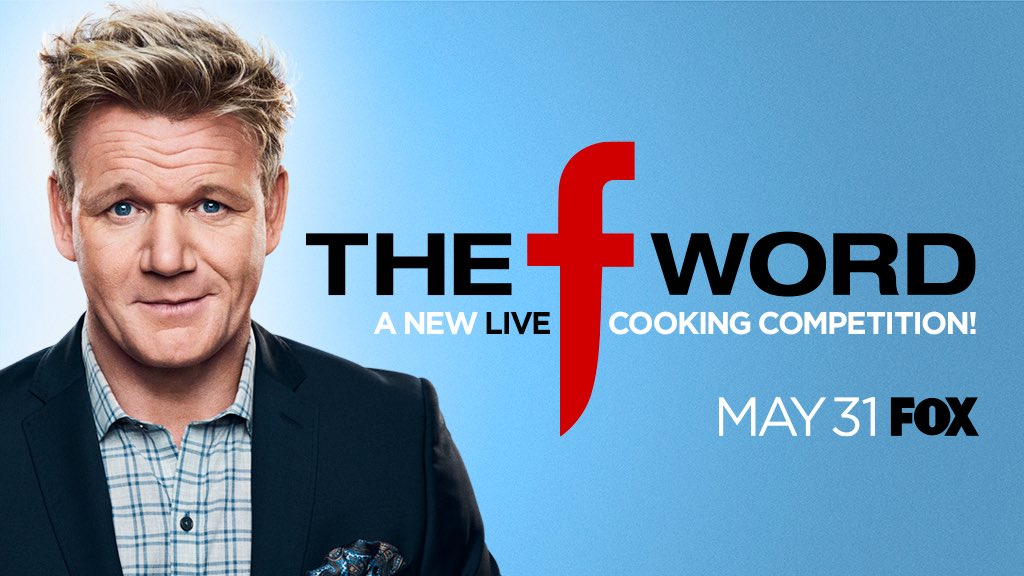 The F stands for Food ! What did you think it meant ?? @TheFWordFOX is coming LIVE May 31st at 9 PM ! #TheFWord https://t.co/1STDwn3e8N
