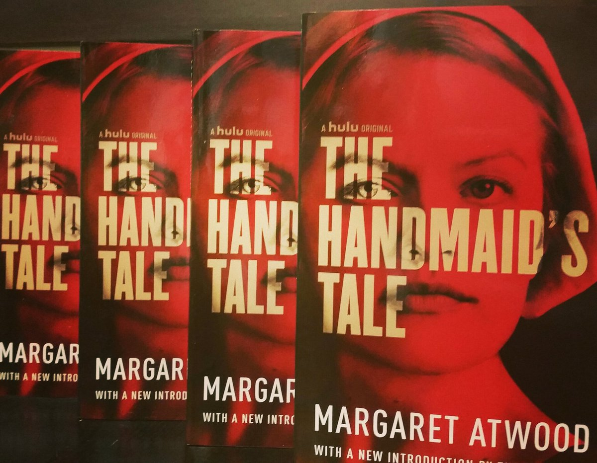 It&#39;s here! Grab a copy before you binge watch! #bookisalwaysbetter #bookpic #handmaidstale #women #scary #bnmidwest #books<br>http://pic.twitter.com/f41jnXlp5p