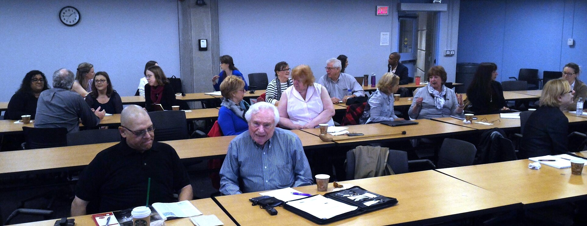 Attendees at the Managing Small Archives workshop. We're all learning a lot from each other! #aao17conf https://t.co/cyV7QMGsxa
