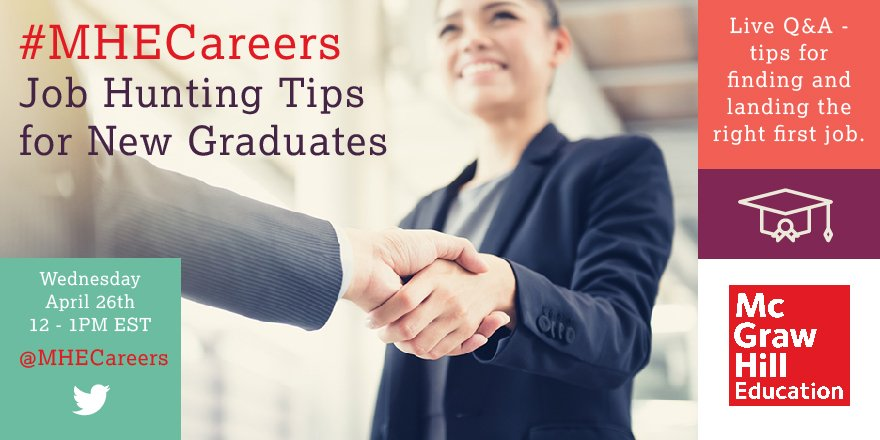 Thumbnail for #MHECareers | Job Hunting Tips for New Graduates