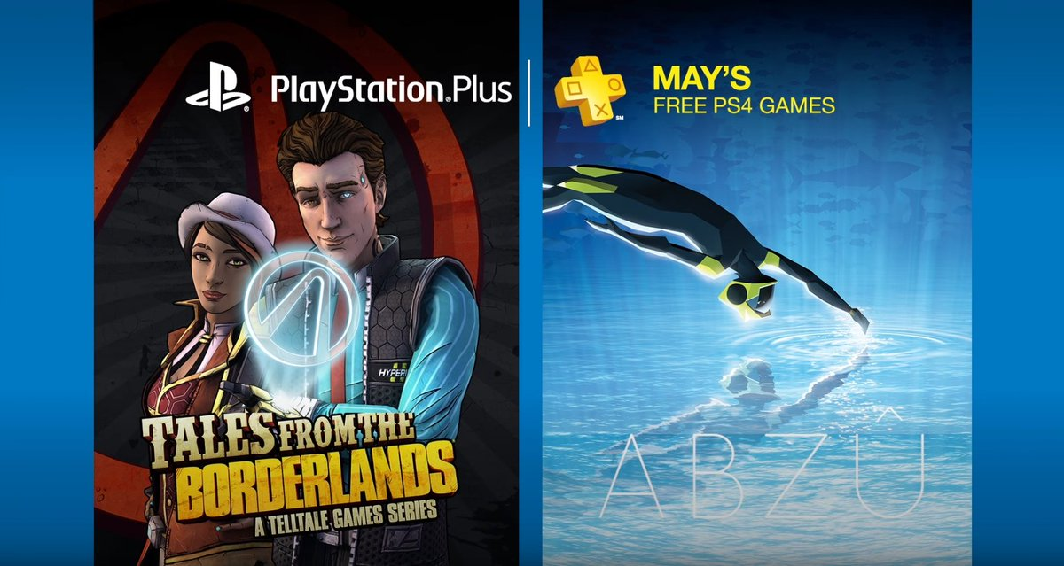 PS Plus free games May 2017