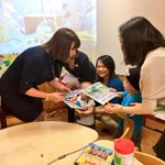 Enjoyed giving children coloring books featuring our pets during our Asia-Pacific trip. The stuffed version of Marlon Bundo was a big hit! 😀