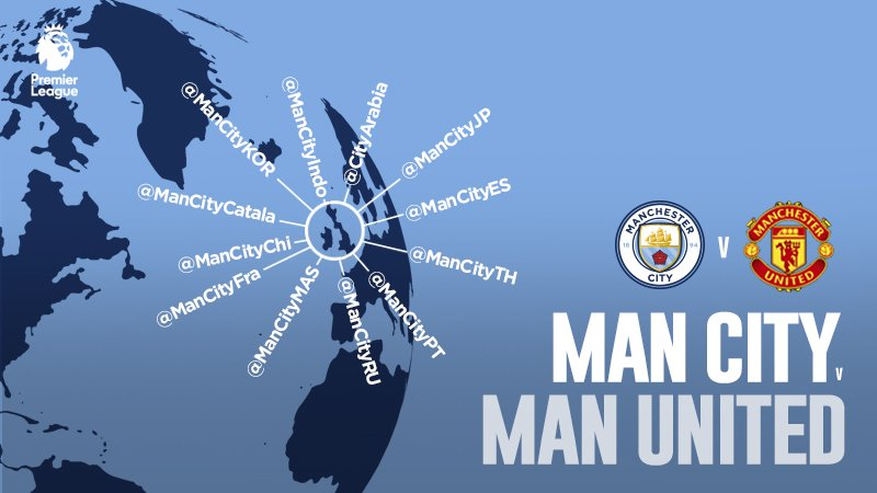 MANCHESTER CITY-MANCHESTER UNITED Streaming Video YouTube Facebook Live Gratis Online