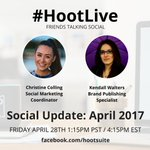 Facebook introduces Giphy integration, Snapchat rolls out World Lenses & more social news during #HootLive: https://t.co/rxg5Cbq4Sc Tune in!