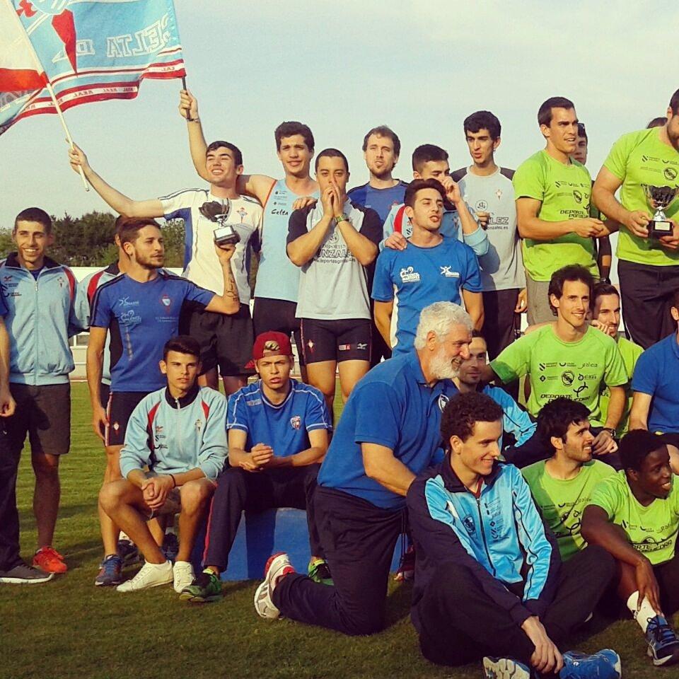 @CAT_Alcorcon @aamoratalaz @AtletismoCAPEX nosotros ya estamos listos  para la #LigaNacional @atletismoRFEA. Vosotros?  #RCCelta pic.twitter.com/10de4T8loV