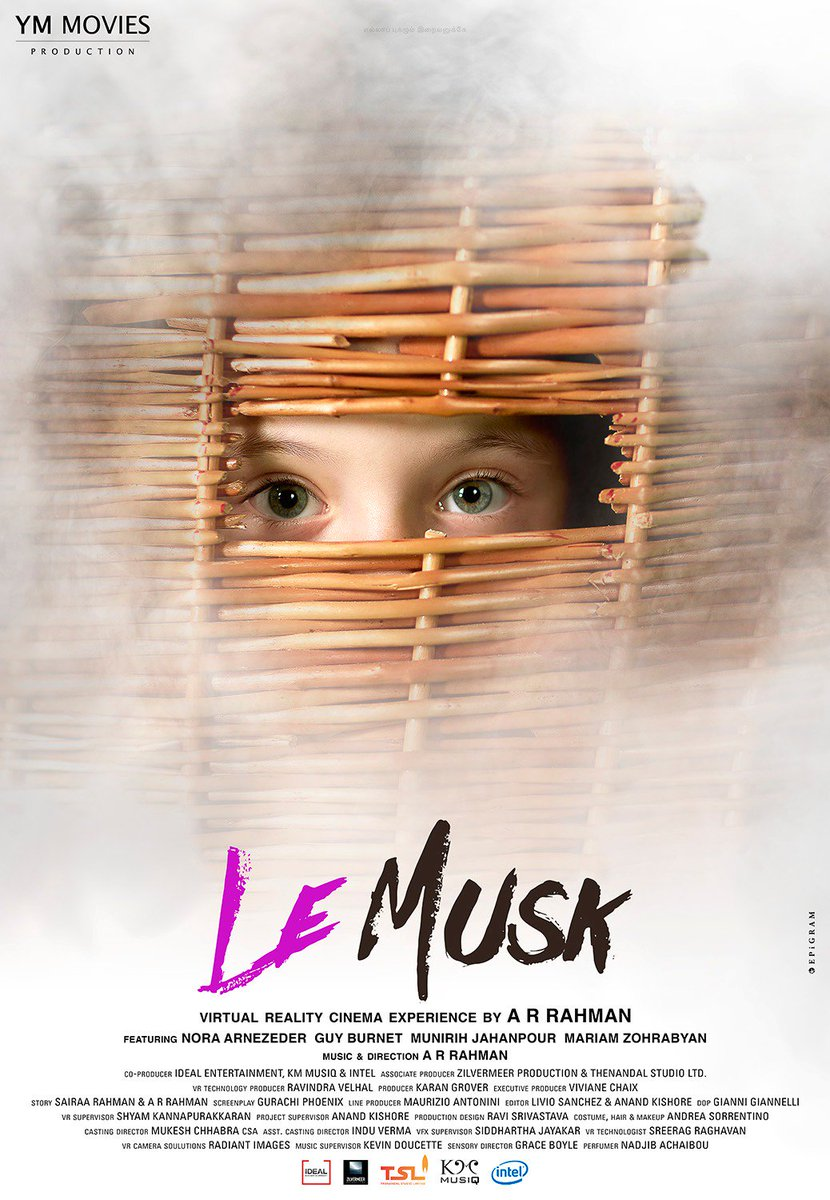 Replying to @arrahman: Unveiling the posters of Le Musk