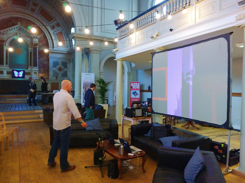 Setting up the #GEMINATE display in @stpaulsworthing . #digital #worthing @asdescribed https://t.co/zRXzibve2O