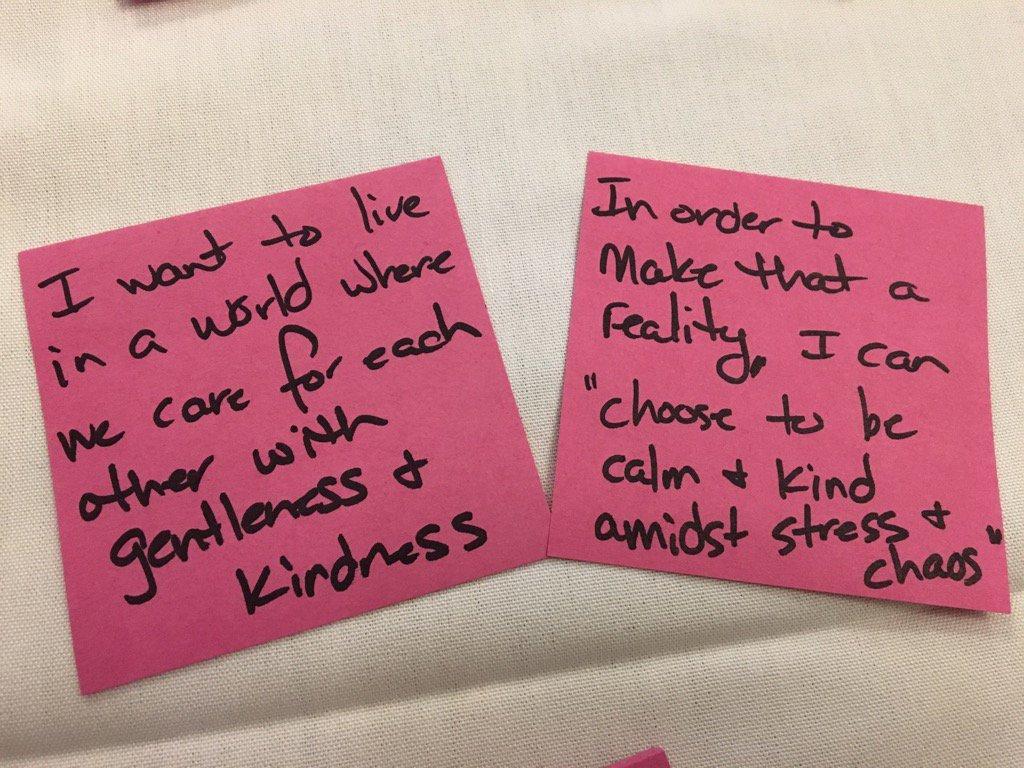 """Gentleness & Kindness"" #ATLISac https://t.co/VuEshCY0kd"