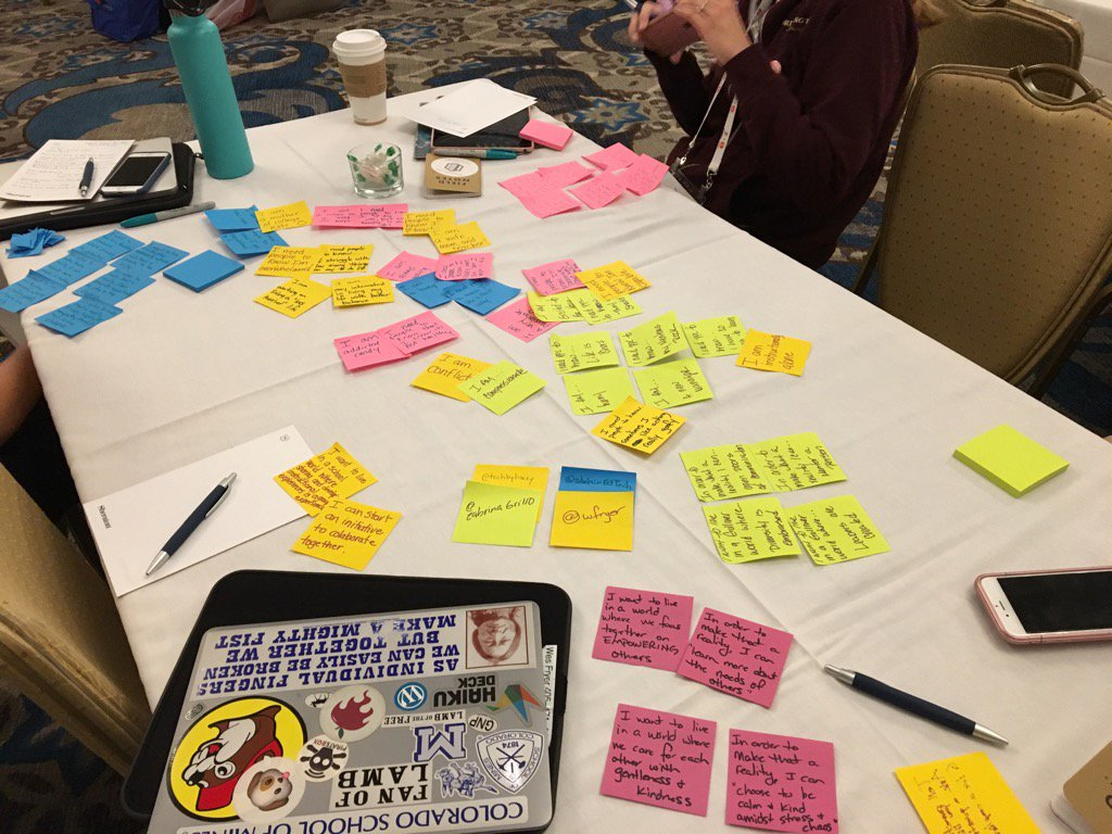 """""""HOW - action, MIGHT - possibly, WE - together"""" by @rwelsh8 #ATLISac https://t.co/9UyesqhVAg"""