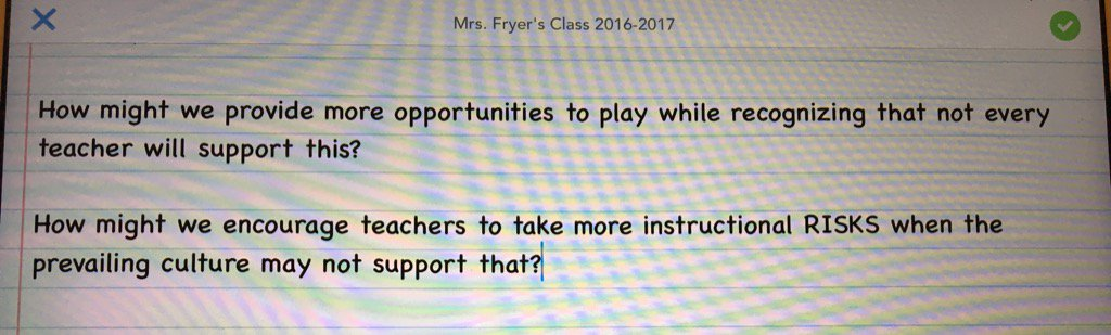 """""""How might we... encourage more PLAY, more instructional RISK taking?"""" h/t @rwelsh8 @mattscully #ATLISac https://t.co/4qDZwsrgWW"""