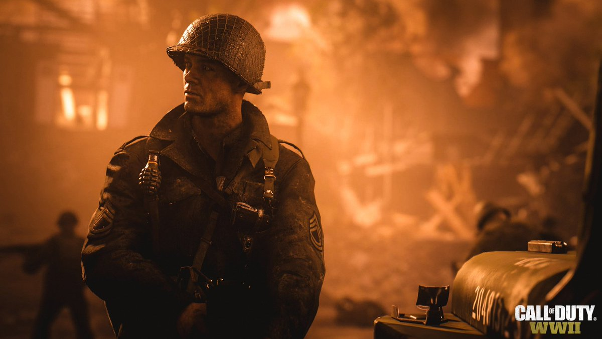 Official Call of Duty: WWII trailer has been revealed! #CoDWWII https:...