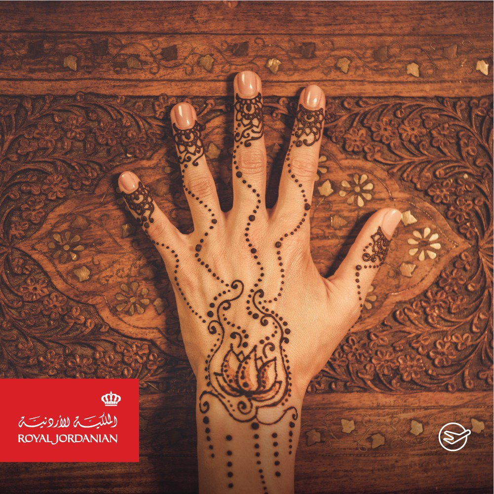 Royal Jordanian On Twitter Sudanese Henna Is One Of The Finest