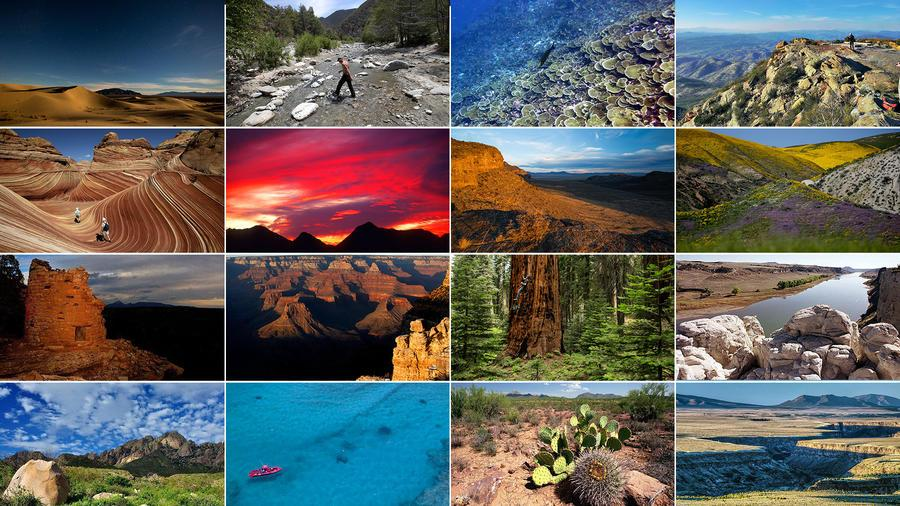 Here are the national monuments being reconsidered under Trump. The full list at @latimes: https://t.co/2HrnjiCltL