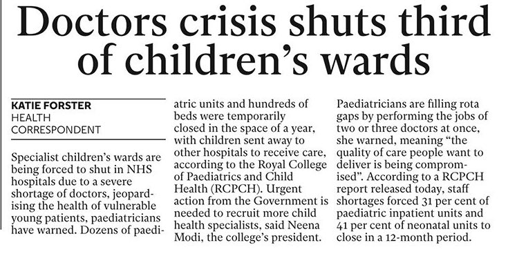 """""""Only the Conservatives can provide the strong and stable government we'll need to finish off the NHS entirely"""" https://t.co/R7OJk3aD5D"""