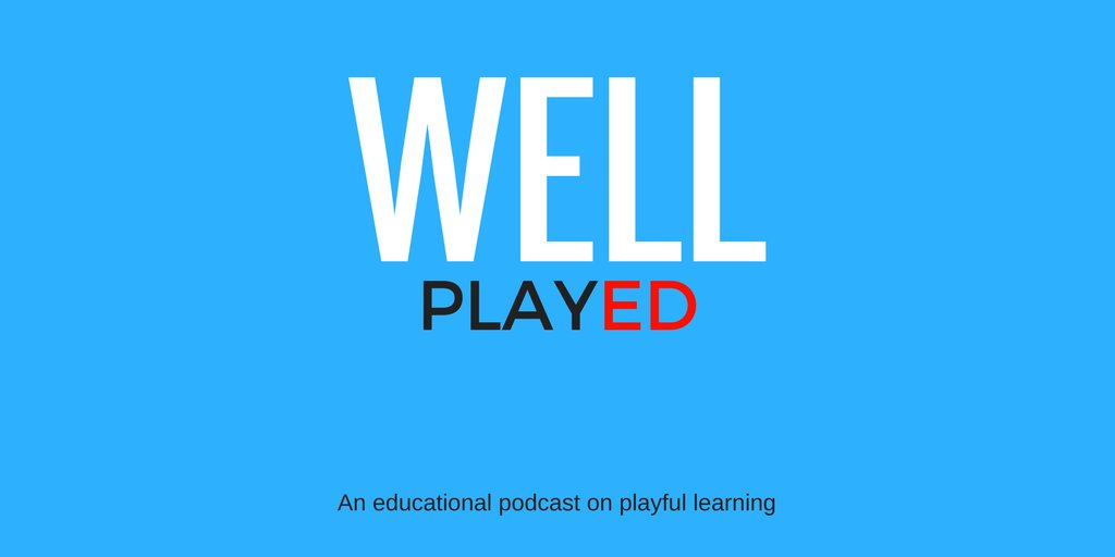 Want to hear some Playful banter about #gamification and #GBL in #XPLAP style… Check out #WellPlayedU podcast here: https://t.co/4BYBzdix6y https://t.co/ZJw6FTwBTe