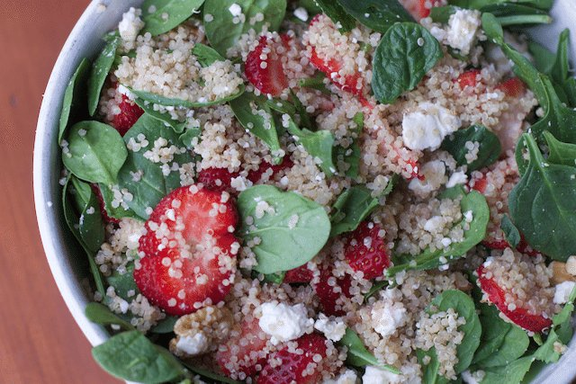 How To Keep Produce Fresh Longer Strawberry Spinach Quinoa Salad Recipe