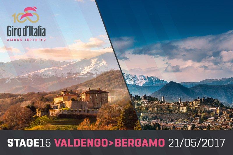 DIRETTA GIRO: Valdengo Bergamo Streaming Tappa 15 LIVE Rai Ciclismo Rojadirecta