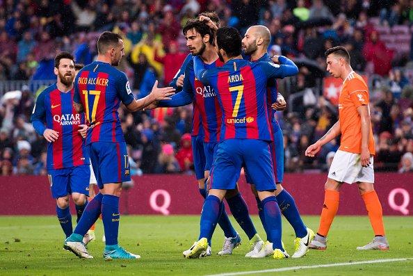 هدف برشلونة الثالث في مرمى أوساسونا