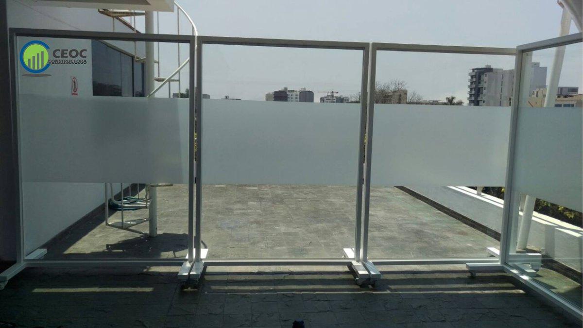 Ceoc Constructora On Twitter Paneles De Vidrio Estructura