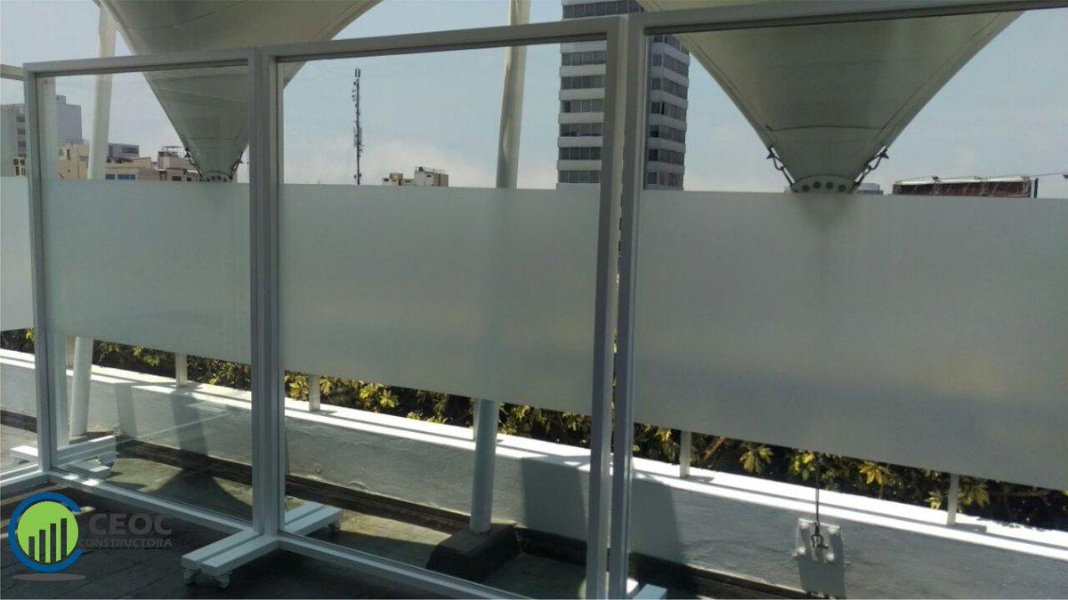 Ceoc Constructora على تويتر Paneles De Vidrio Estructura