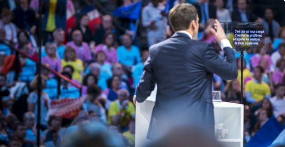 """#Presidentielle2017""""#Macron :""""#MarineLePen refuse de se soumettre aux juges de la République française."""" #Arras #BREAKING #ALERTEINFOpic.twitter.com/Titx0g8UoB"""