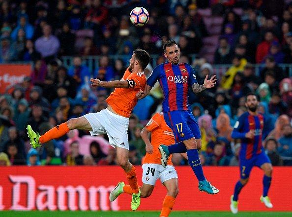 هدف برشلونة الخامس في مرمى أوساسونا