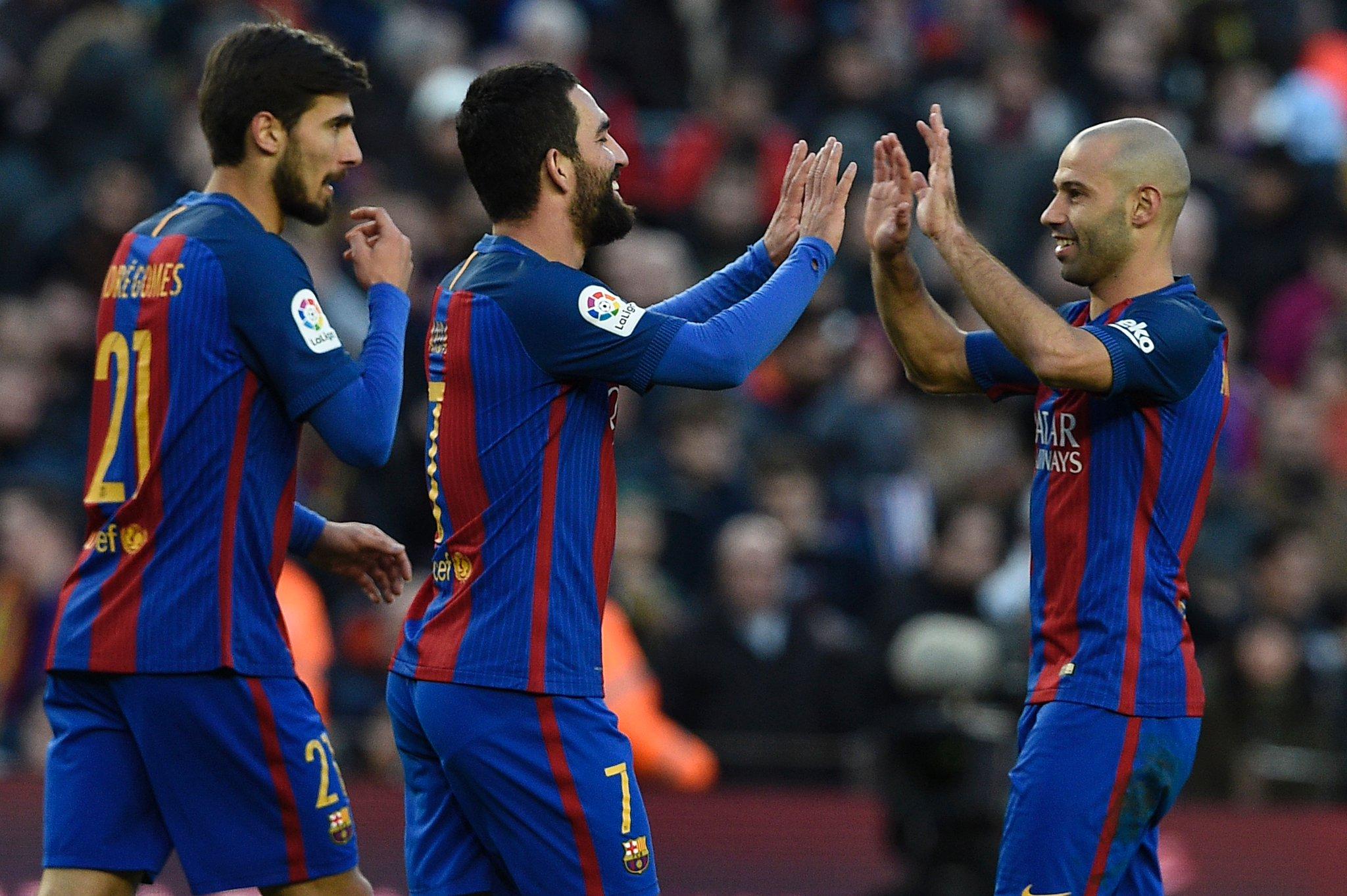 هدف برشلونة السادس في مرمى أوساسونا