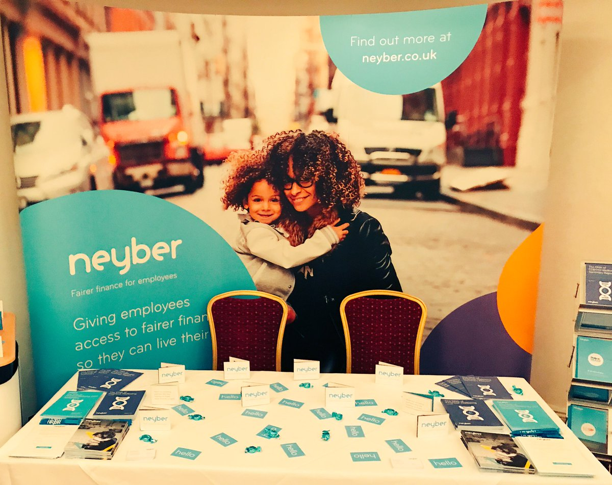 All set up and ready to say #hello and show you why @helloneyber makes people smile. See you tomorrow.... or later @PPMA_HR #ppmahr17<br>http://pic.twitter.com/eYECZKzy3N