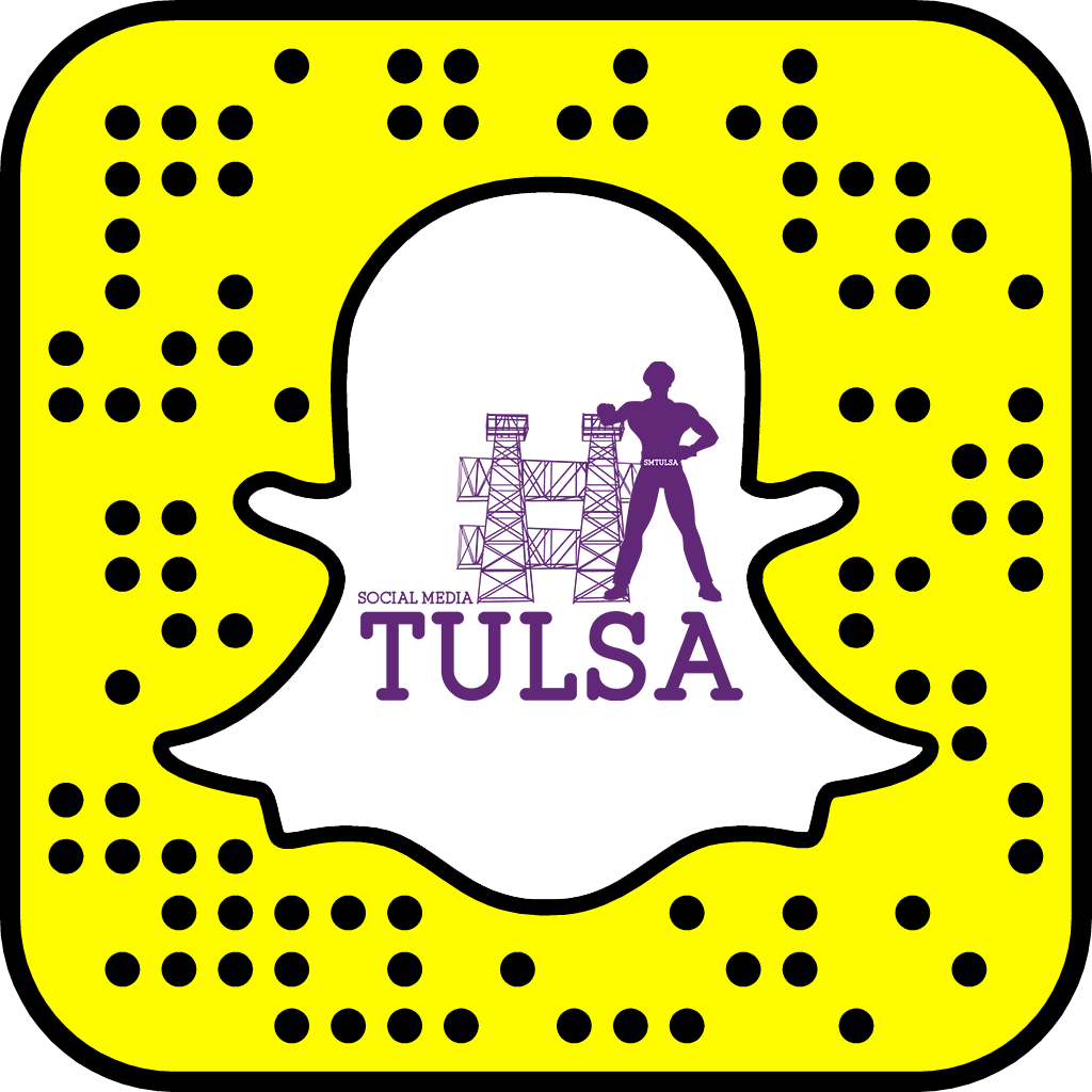 Hey ya'll let's get started. Share your #snapcode or your snapchat url Connect with #SMTULSA via https://t.co/pepYU8Thsv #smtulsachat https://t.co/7JTfpfs8pW