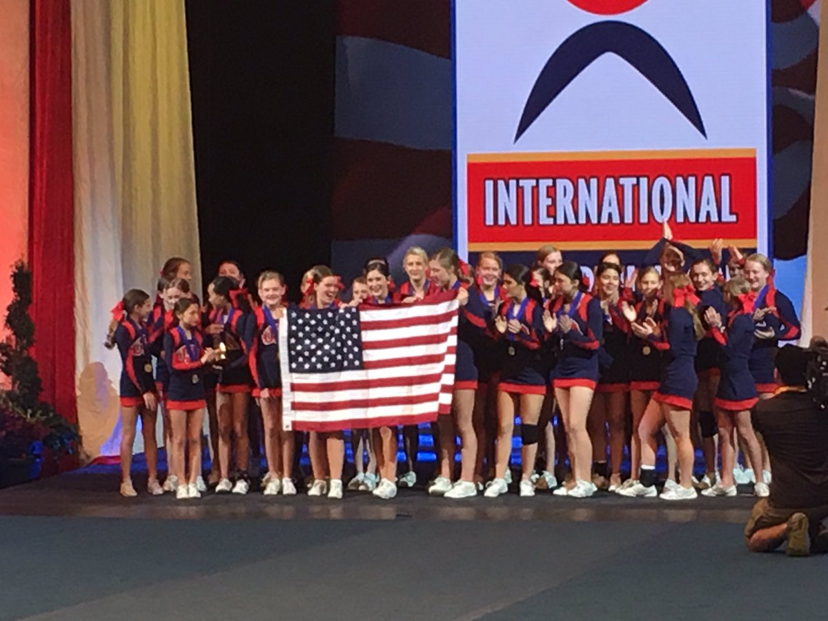 Congratulations to the US National All Girl Team for taking home the Gold!