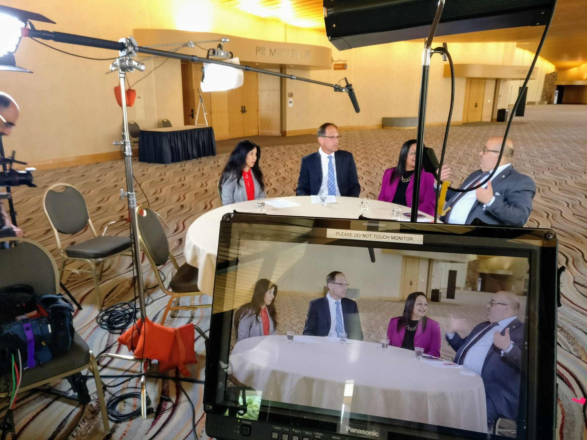 At #CWEAAC we're filming a roundtable discussion about #onewater w @radhikafox  @LA1H2O and Jim Herberg @OCSewers. It's ALL one water https://t.co/t0oN4GNT14