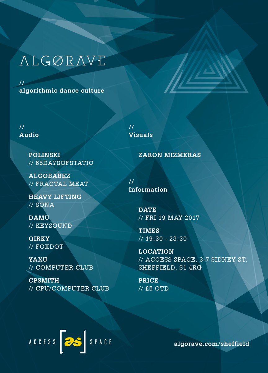 Algorave on Twitter: