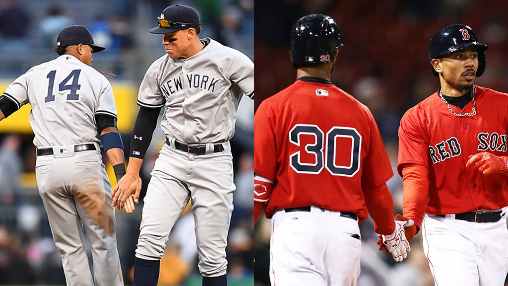 The last 166 games of #TheRivalry?  83-83 overall. 42-42 at The Stadium. 41-41 at Fenway. https://t.co/qIV5ifYnR7