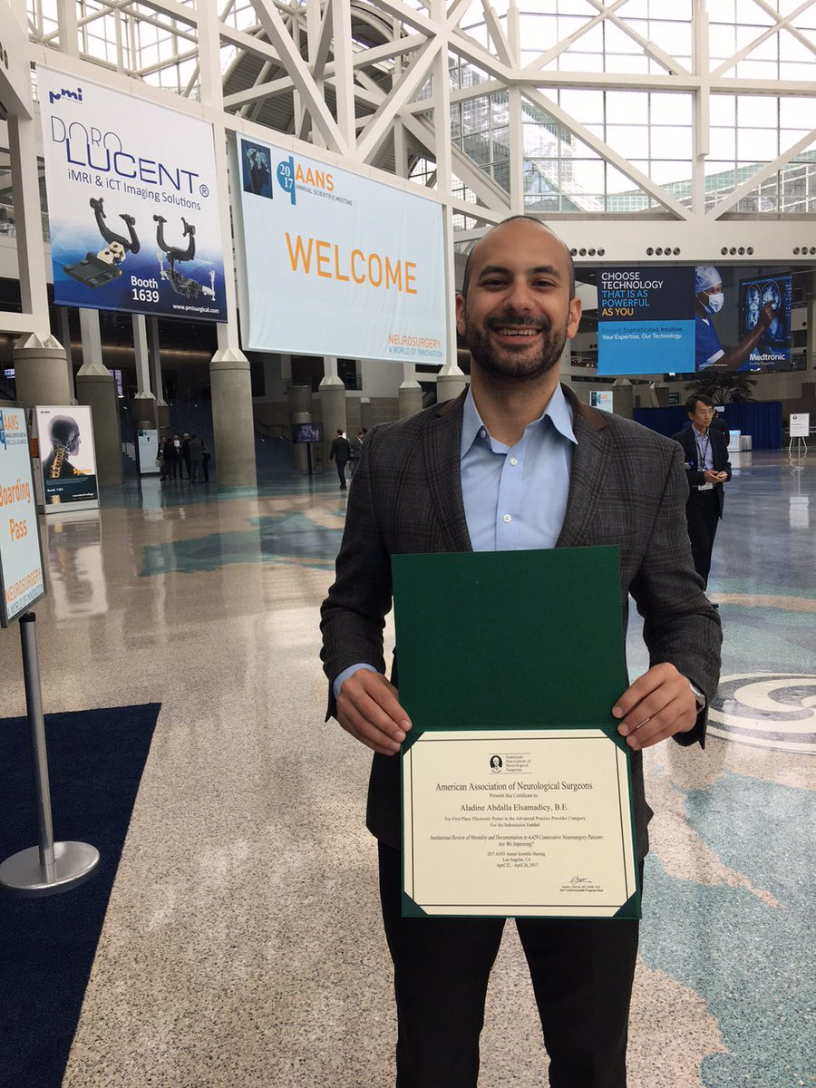 Duke Neurosurgery On Twitter Congrats To Dukeneurosurgs Aladine